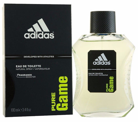 Adidas Pure Game Cologne by Adidas, 3.4 oz EDT Spray for men