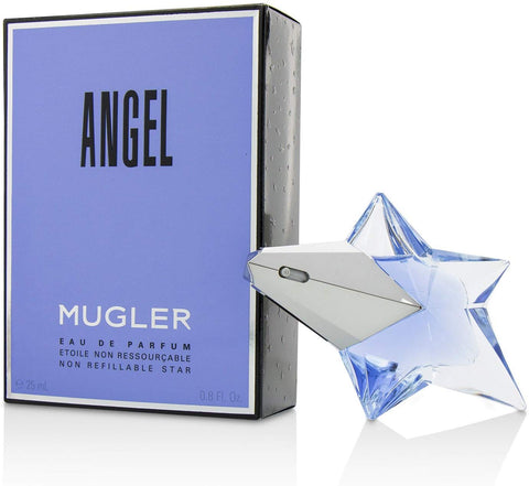 "Angel ""Non Refillable Star"" by Mugler Eau De Parfum 0.8 Oz For Women"