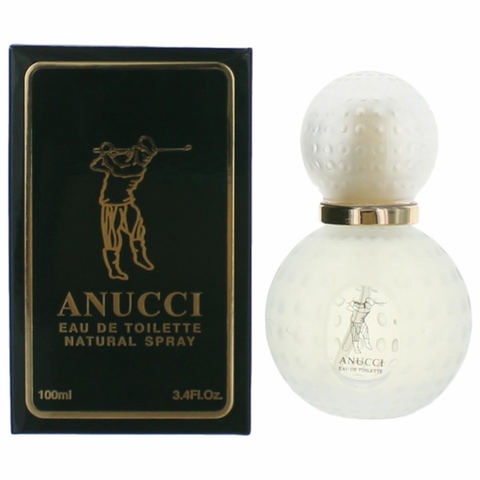 Anucci by Anucci, 3.4 oz Eau De Toilette Spray for Men