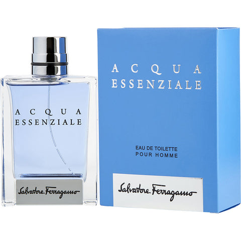 Acqua Essenziale by Salvatore Ferragamo Pour Homme Eau De Toilette 3.4 Oz Spray For Men