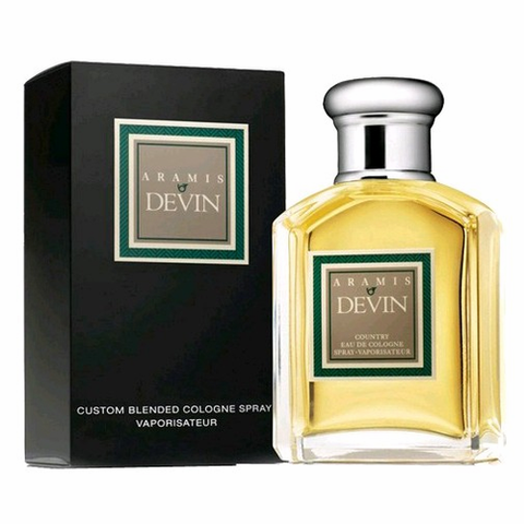 Aramis Devin by Aramis, 3.4 oz Country Eau De Cologne Spray for Men
