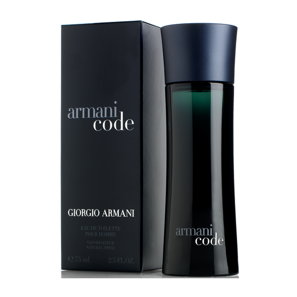 Armani Code Cologne for Men Eau De Toilette Spray 2.5 Oz