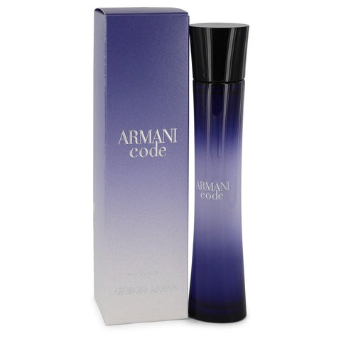 Armani Code by Giorgio Armani Eau de Parfum 2.5 Oz Spray For Women
