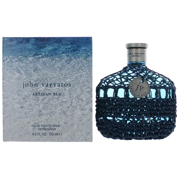 John Varvatos Artisan Blu Eau De Toilette Spray, Cologne for Men, 4.2 Oz