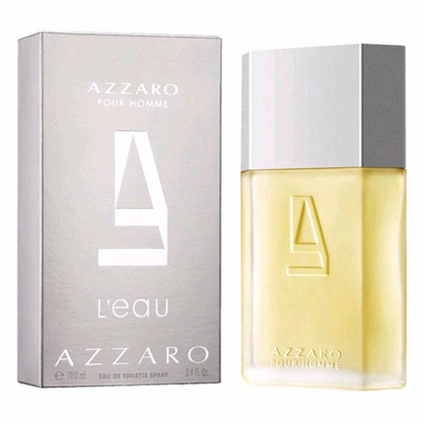 Azzaro L'eau Homme Cologne by Azzaro Azzaro L'eau Homme by Azzaro, 3.4 oz Eau De Toilette Spray for Men