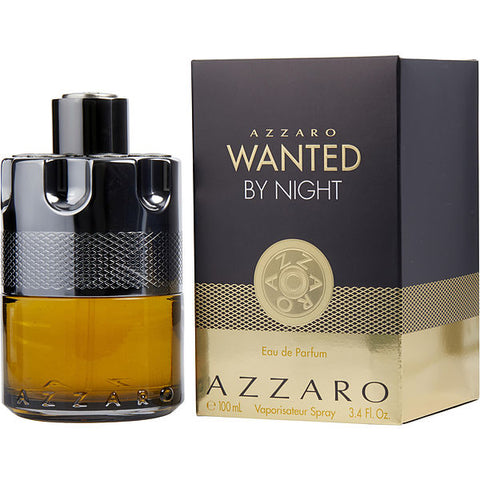 Azzaro Wanted By Night by Azzaro Eau De Parfum 3.4 Spray For Men
