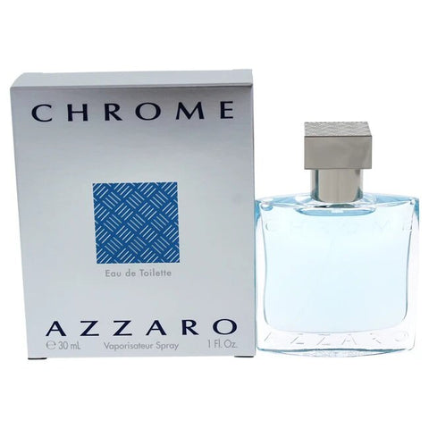 Chrome by Azzaro Eau de Toilette 1.0 Oz Spray For Men