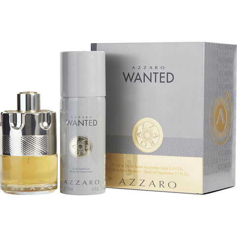 Azzaro Wanted Cologne Gift Set for Men, 2 Pieces