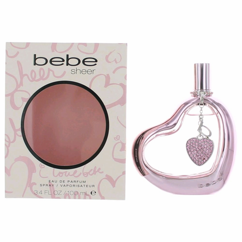 bebe Sheer by bebe, 3.4 oz Eau De Parfum Spray for Women