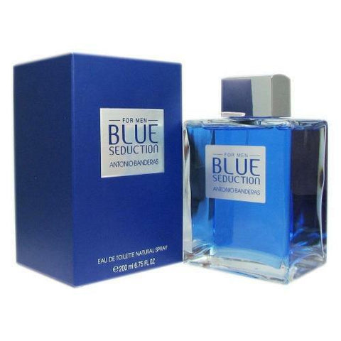 Banderas Blue Seduction for Men Eau De Toilette Spray, 6.8 Ounce