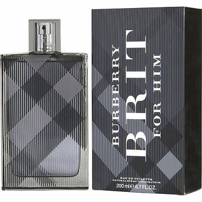 Burberry Brit by Burberry Eau de Toilette 6.7 Oz Spray For Men
