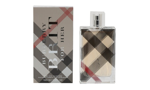 Burberry Brit For Her by Burberry Eau De Parfum 3.3 Oz Spray For Women