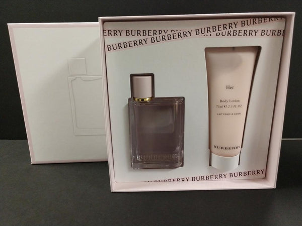 Burberry HER Collection Eau De Parfum 1.6 oz Gift Set