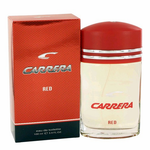 Carrera Red by Carrera, 3.4 oz Eau De Toilette Spray for Men