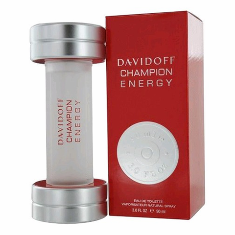 Champion Energy by Davidoff, 3 oz Eau De Toilette Spray for Men