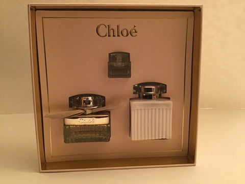 Chloe By chloe Eau De Parfum 1 Oz Gift Set 3 Pcs