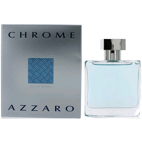 Chrome by Azzaro Eau de Toilette 1.7 Oz Spray For Men