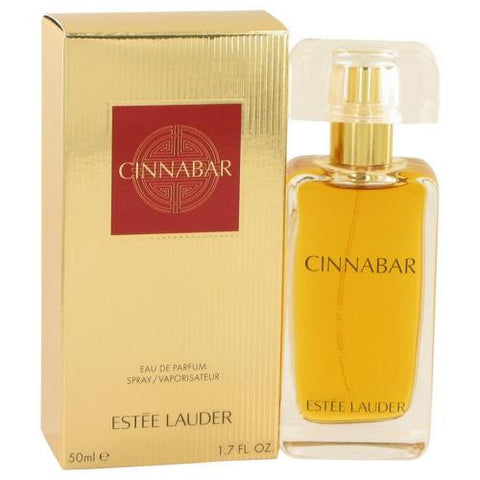 Cinnabar by Estee Lauder Eau De Parfum 1.7 Oz Spray For Women