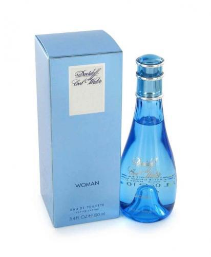 Cool Water by Davidoff, Eau De Toilette 3.4 Oz Spray for Women