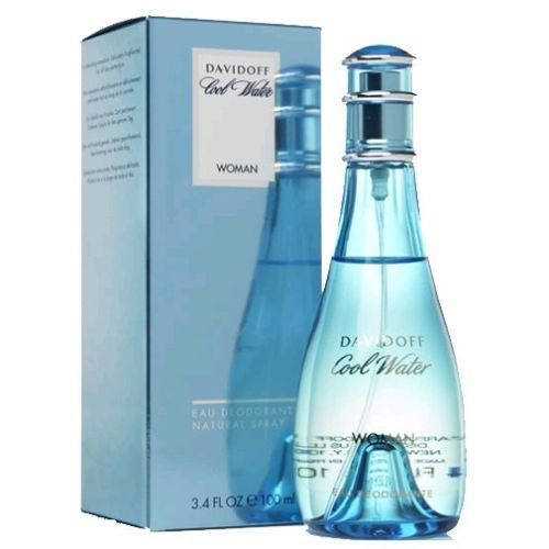 Cool Water by Davidoff, 3.4 oz Deodorant Spray for Women