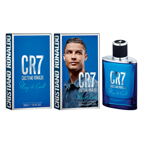 "CR7 ""Play It Cool"" by Cristiano Ronaldo Eau De Toilette 1.0 Oz For Men Spray"