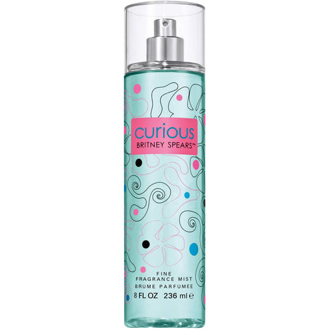Curious By Britney Spears Body Mist 8.0 Oz Spray For Women