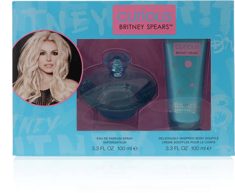 Curious by Britney Spears Eau De Parfum 3.4 Oz Spray For Women Gift Set