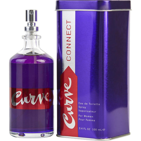 Curve Connect by Liz Claiborne Eau de Toilette 3.4 Oz Spray For Women