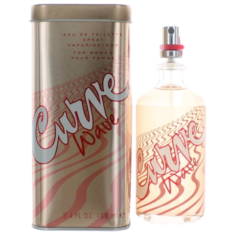 Curve Wave by Liz Claiborne, Eau De Toilette 3.4 Oz Spray for Women