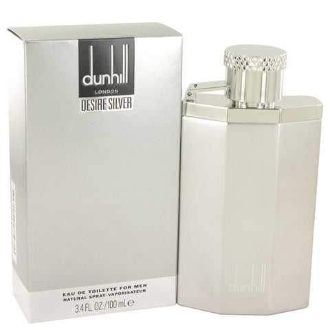 Desire Silver Cologne by Alfred Dunhill, 3.4 oz EDT Spray for Men