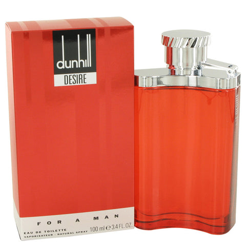Desire Red by Alfred Dunhill Eau de Toilette 3.4 Oz Spray For Men