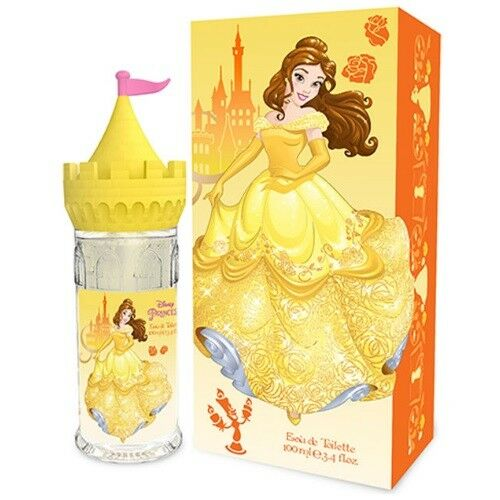 Disney Princess Belle by Disney Princess, 3.4 oz Eau De Toilette Spray for Girls