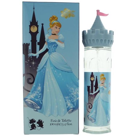 Disney Princess Cinderella by Disney Princess, 3.4 oz Eau De Toilette Spray for Girls