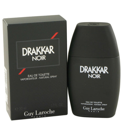 Guy Laroche Drakkar Noir Eau De Toilette Spray Cologne for Men 1.7 Oz