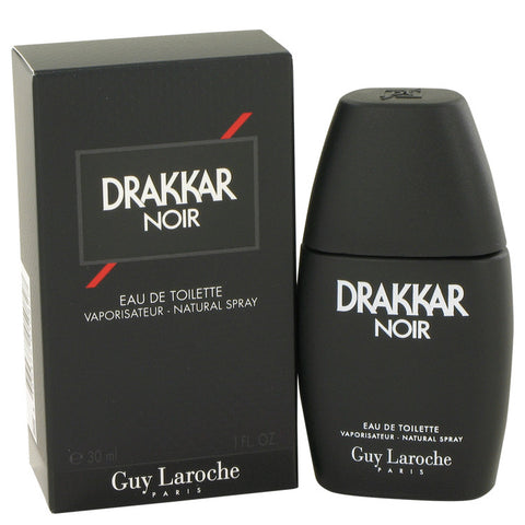 Guy Laroche Drakkar Noir Eau De Toilette Spray, Cologne for Men, 1.0 Oz