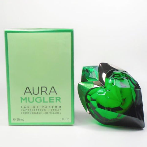 Aura by Mugler Eau de Parfum Refillable 3.0 Oz Spray For Women