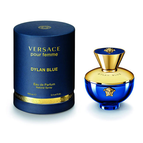 Dylan Blue Pour femme By Versace Eau De Parfume 3.4 Oz Spray