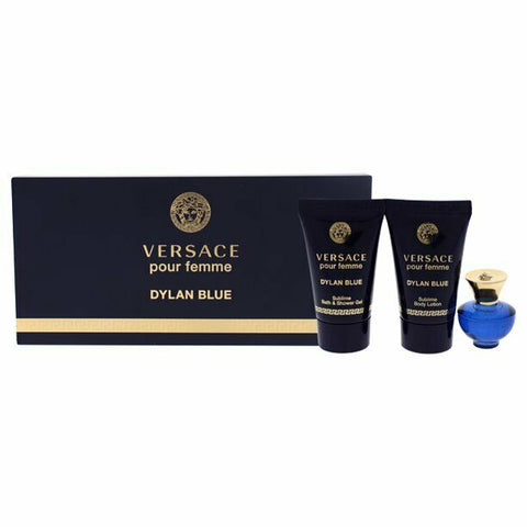 Versace Dylan Blue Perfume by Versace, 3 Piece Mini Gift Set women