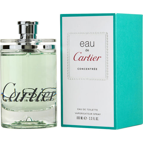 Eau De Cartier Concentree by Cartier Eau de Toilette 3.3 Oz Spray Unisex