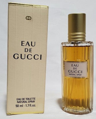Eau de Gucci by Gucci Eau de Toilette 1.7 Oz Spray For Women