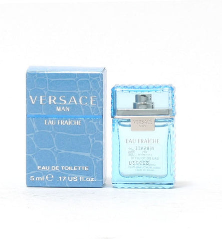 Versace Man Eau Fraiche by Versace Eau de Toilette 0.17 Oz For Men