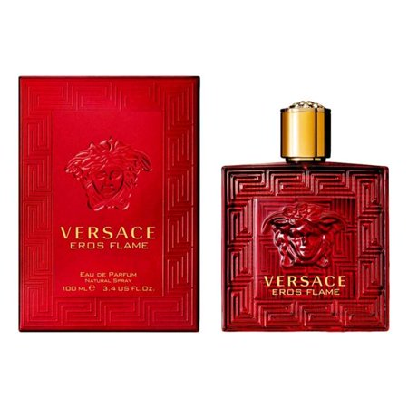 Eros Flame By versace Eau De Parfume 3.4 Oz spray For Men