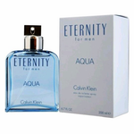 Eternity Aqua by Calvin Klein, 6.7 oz Eau De Toilette Spray for Men