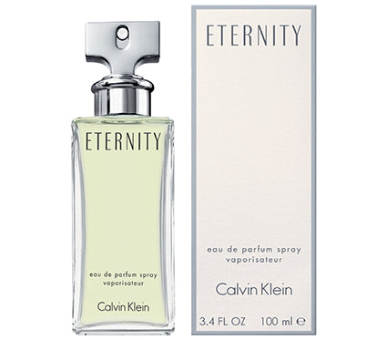 Eternity By Calvin Klein Eau De Parfum 3.4 Oz Spray For Women