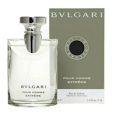 Bvlgari Extreme Pour Homme by Bvlgari Eau de Toilette 3.4 Oz Spray For Men
