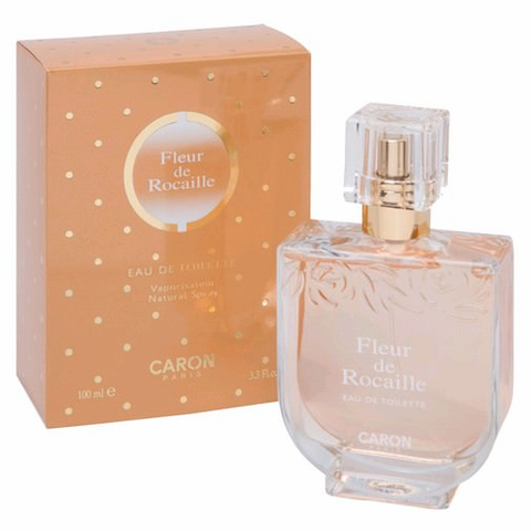 Fleur de Rocaille by Caron, 3.3 oz Eau De Toilette Spray for Women