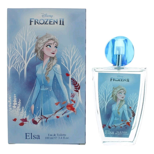 Disney Frozen 2 Elsa Perfume by Disney 3.4 oz EDT Spray for Girls