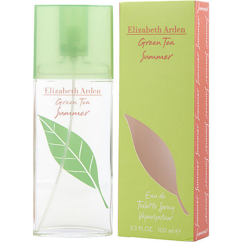 Green Tea Summer by Elizabeth Arden Eau de Toilette 3.3 Oz Spray For Women