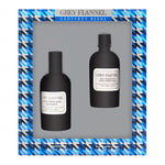 Grey Flannel by Geoffrey Beene for Men 2 Piece Set Includes: 4.0 oz Eau de Toilette Spray + 4.0 oz After Shave Pour