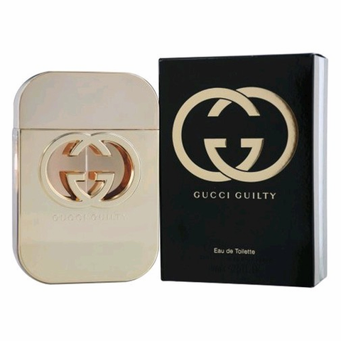 Gucci Guilty by Gucci, 2.5 oz Eau De Toilette Spray for Women